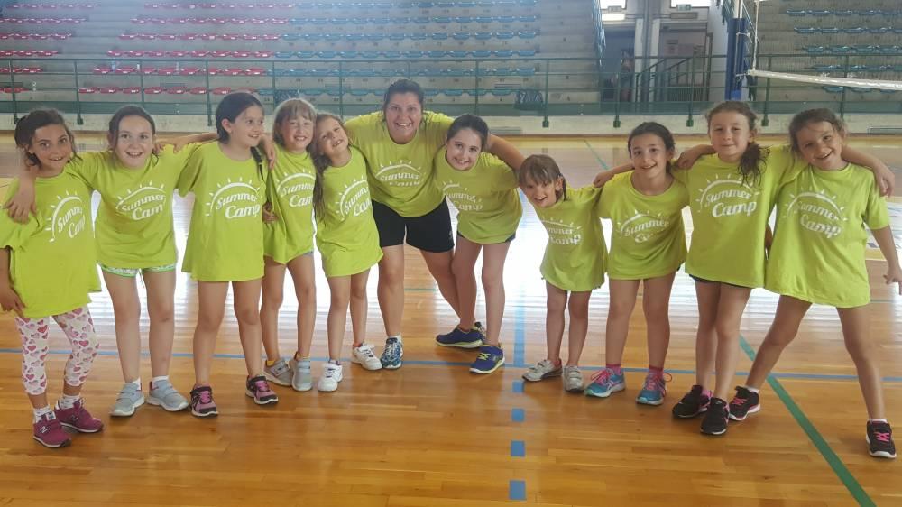 Summer camp e mini volley concluse le attivit per le piccole pallavoliste - Piscina comunale monsummano ...